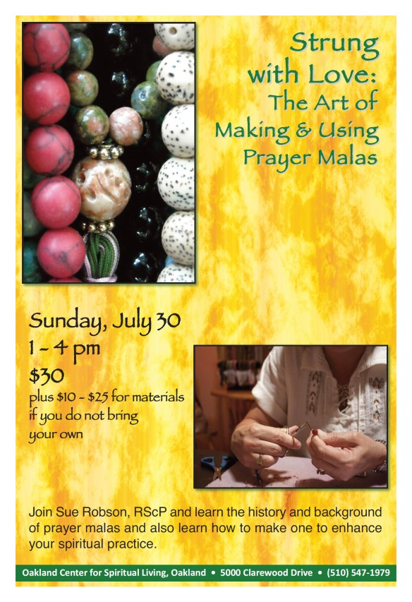 PrayerMala.Workshop.Oakland.Flyer